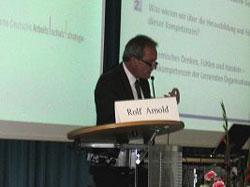 Keynotspeaker Prof. Arnold, TU-Kaiserslautern