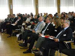 Das Publikum folgte interessiert den Ausführungen