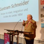 Guntram Schneider, Minister für Arbeit, Integration und Soziales des Landes NRW