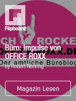 Flipboard Büro: Impulse von OFFICE ROXX