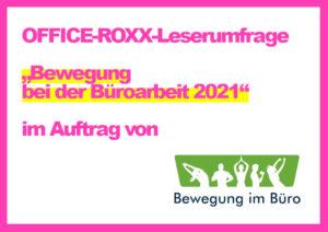 OFFICE-ROXX-Leserumfrage-Bewegung